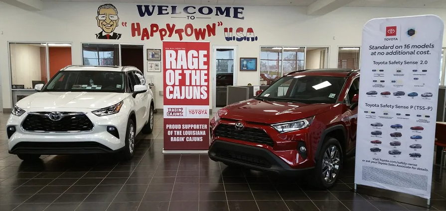 Welcome To Courvelle Toyota In Lafayette, LA