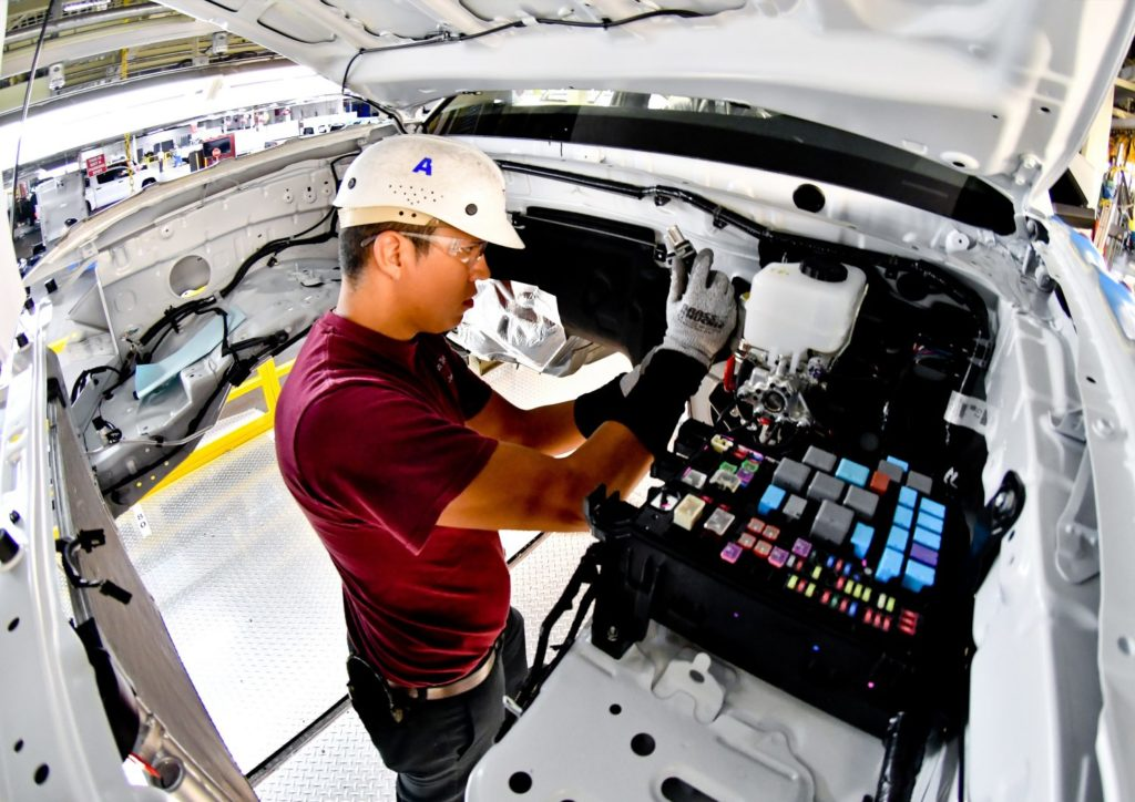 Toyota Invests In American Jobs - Courvelle Toyota In Lafayette, LA