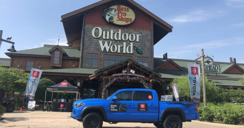 Toyota Extends Partnership with Bass Pro Shops and Cabela's